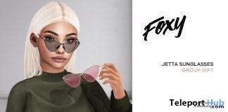 Jetta Sunglasses April 2018 Group Gift by Foxy - Teleport Hub - teleporthub.com