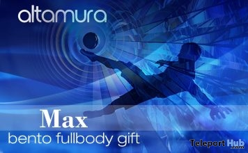 Max Bento Full Body May 2018 Gift by Altamura @ AJUDA SL BRASIL - Teleport Hub - teleporthub.com
