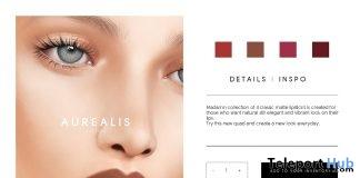 Madamn Matte Classic Lipstick Set April 2018 Group Gift by Aurealis - Teleport Hub - teleporthub.com