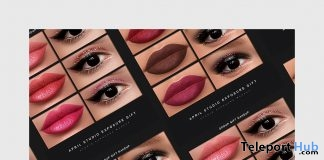April Makeup Collection For Catwa & Lelutka Heads April 2018 Group Gift by STUDIO EXPOSURE MAKEUP - Teleport Hub - teleporthub.com