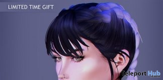 Lilac Hairstyle April 2018 Group Gift by Beusy - Teleport Hub - teleporthub.com