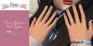 Cherry Blossom Nail Applier 1L Promo Gift by Cosmic - Teleport Hub - teleporthub.com