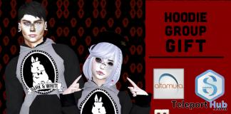 Unisex Hoodie April 2018 Group Gift by Dark & White - Teleport Hub - teleporthub.com