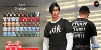 Sheldon T-Shirt Fatpack Limited Time 1L Promo Gift by A&D Clothing - Teleport Hub - teleporthub.com