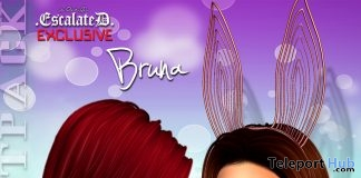 Bruna Hair Fatpack April 2018 Group Gift by EscalateD - Teleport Hub - teleporthub.com