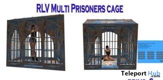 RLV Multiprisoners April 2018 Group Gift by Cage Carissa Design - Teleport Hub - teleporthub.com