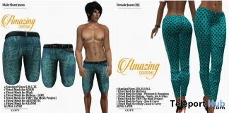 Male Shorts & Female Pants May 2018 Group Gift by AmAzIng CrEaTiOnS - Teleport Hub - teleporthub.com