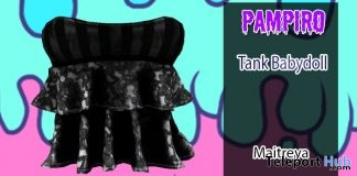 Baby Doll Tank April 2018 Group Gift by Pampiro - Teleport Hub - teleporthub.com