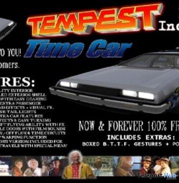 Time Machine Car Gift by Tempest Inc Creations Company - Teleport Hub - teleporthub.com