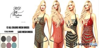 Asalah Lace Dress Fatpack 12 Colors 1L Promo Gift by Braham Design - Teleport Hub - teleporthub.com