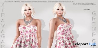 Mayte Babydoll April 2018 Group Gift by Xtravagance - Teleport Hub - teleporthub.com