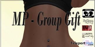 Belly Piercings April 2018 Group Gift by MP Pixel - Teleport Hub - teleporthub.com