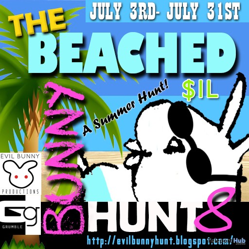 The Beached Bunny Hunt 8 (2018) - Teleport Hub - teleporthub.com