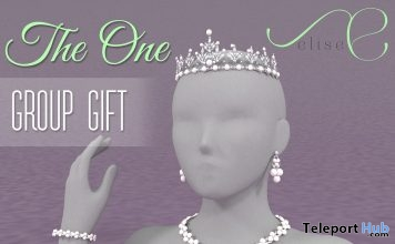 The One Jewelry Set May 2018 Group Gift by elise - Teleport Hub - teleporthub.com