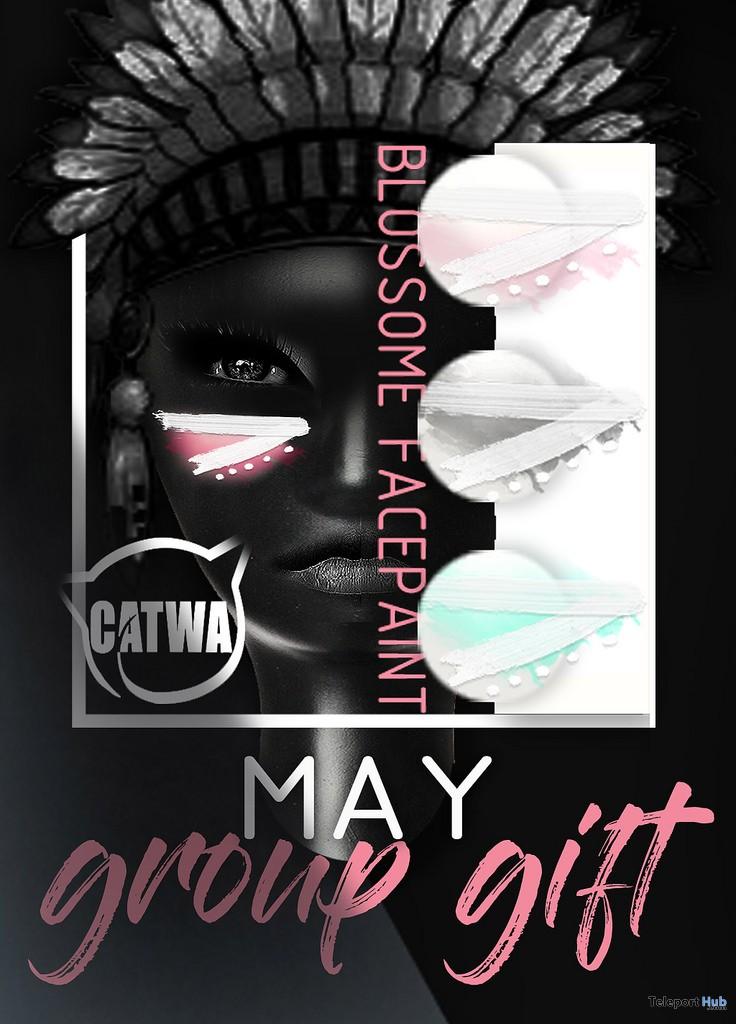 Blossom Facepaint May 2018 Group Gift by Mug - Teleport Hub - teleporthub.com