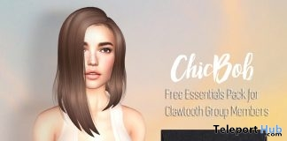Chic Bob Essentials Pack May 2018 Group Gift by Clawtooth - Teleport Hub - teleporthub.com