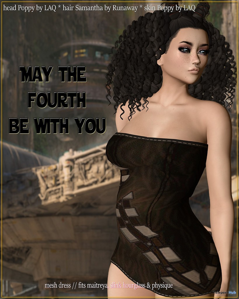 May the Fourth Dress May 2018 Group Gift by Stix - Teleport Hub - teleporthub.com