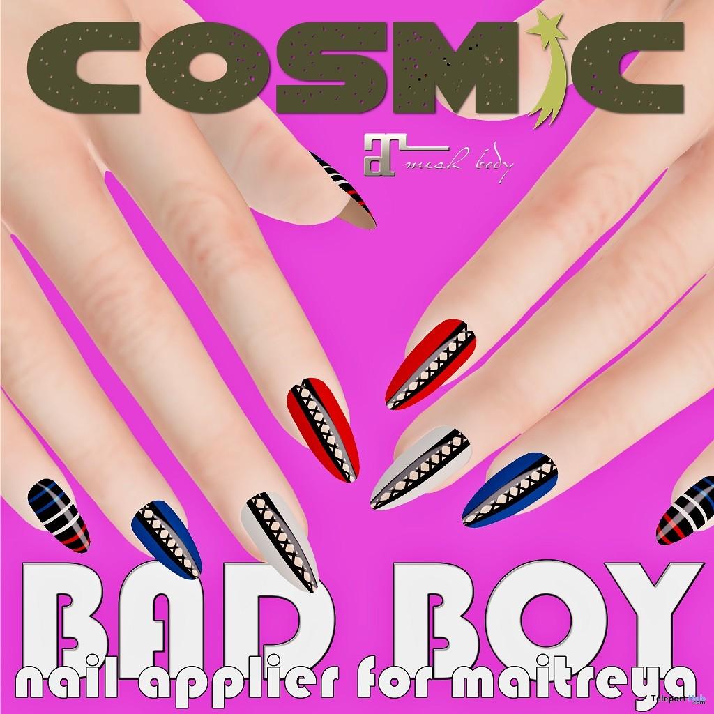 Bad Boy Nail Applier For Maitreya 3L Promo by COSMiC - Teleport Hub - teleporthub.com
