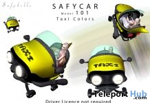 Safy Car 101 Taxi May 2018 Group Gift by SAFYBELLE - Teleport Hub - teleporthub.com