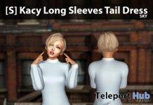 New Release: [S] Kacy Long Sleeves Tail Dress by [satus Inc] - Teleport Hub - teleporthub.com