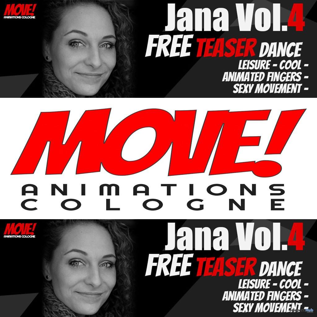 Jana 37 Bento Dance Gift by MOVE! Animations Cologne - Teleport Hub - teleporthub.com