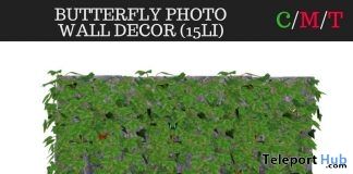 Butterfly Photo Wall Decor May 2018 Group Gift by The Olde Attic - Teleport Hub - teleporthub.com