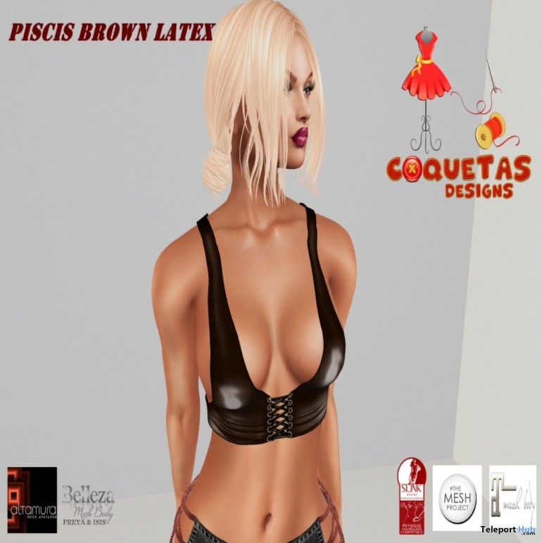 Piscis Brown Cojin May 2018 Group Gift by Coquetas Designs - Teleport Hub - teleporthub.com