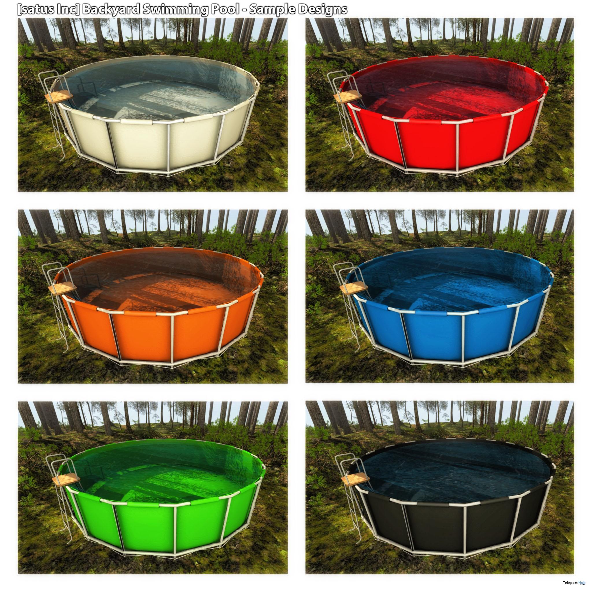 New Release: Backyard Swimming Pool by [satus Inc] - Teleport Hub - teleporthub.com