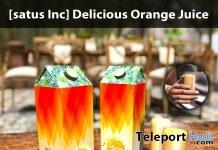 New Release: Delicious Orange Juice by [satus Inc] - Teleport Hub - teleporthub.com