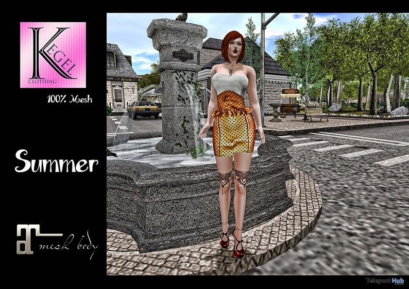Summer Dress 10L Promo by Kegel Clothing - Teleport Hub - teleporthub.com