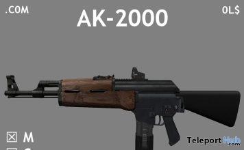 AK-2000 Gun June 2018 Gift by .COM - Teleport Hub - teleporthub.com