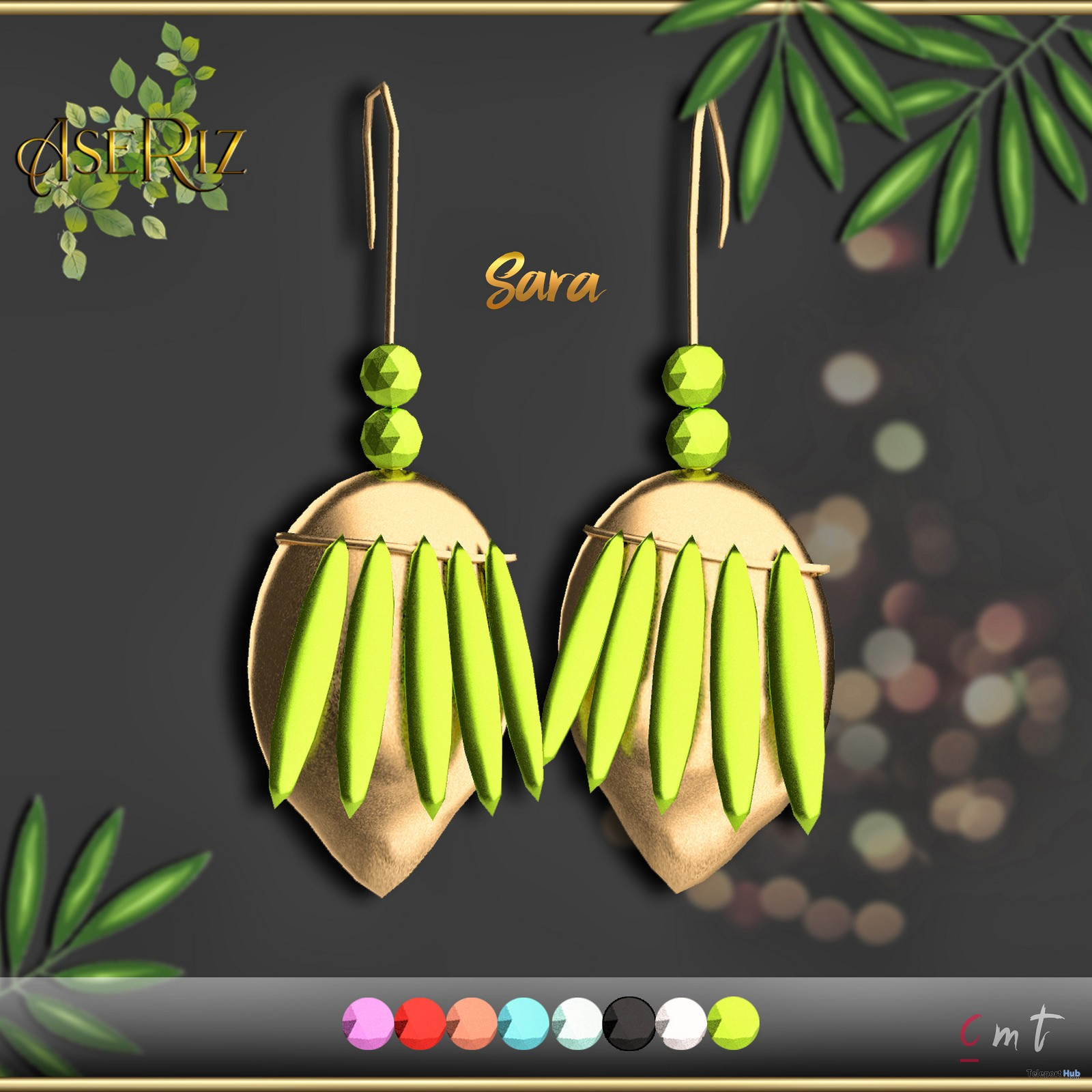 Sara Earring Fatpack 1L Promo by Sara - Teleport Hub - teleporthub.com
