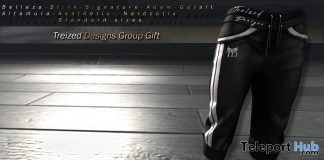 Glamour Sport Pants July 2018 Group Gift by Treized Designs - Teleport Hub - teleporthub.com