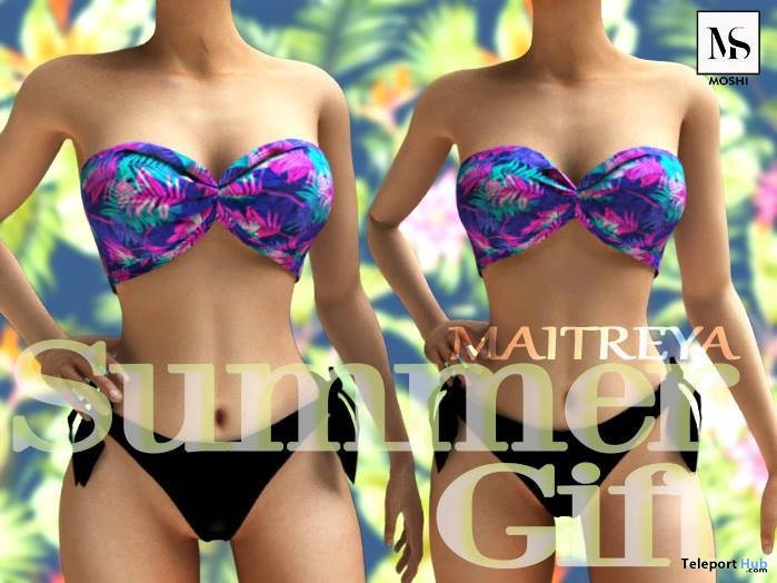 Swimsuit Summer 1L Promo Gift by Moshi - Teleport Hub - teleporthub.com