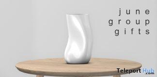 Dipped Side Table & Modern Vase June 2018 Group Gift by Fancy Decor - Teleport Hub - teleporthub.com