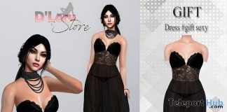 Sexy Dress June 2018 Group Gift by D'LORY Store - Teleport Hub - teleporthub.com