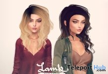 Fate & Destiny Hair Fatpack June 2018 Group Gift by Lamb - Teleport Hub - teleporthub.com