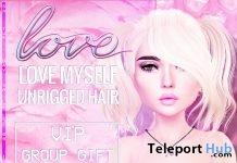 Love Myself Hair June 2018 Group Gift by Love - Teleport Hub - teleporthub.com