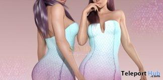 Mermaid Dress June 2018 Group Gift by Seniha Originals - Teleport Hub - teleporthub.com