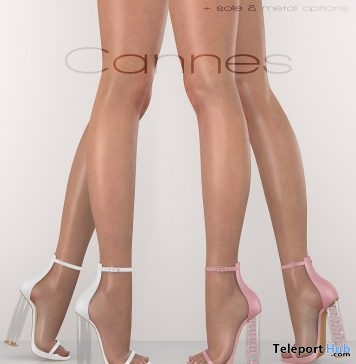 Cannes Heel 18 Colors Fatpack June 2018 Group Gift by Essenz - Teleport Hub - teleporthub.com