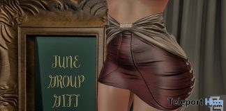 Tight Leather Skirt June 2018 Group Gift by Elven Elder - Teleport Hub - teleporthub.com
