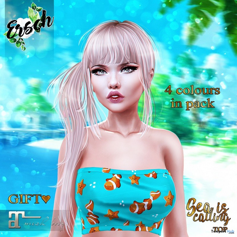Sea Is Calling Top June 2018 Group Gift by ERSCH - Teleport Hub - teleporthub.com