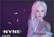 Teni Hair June 2018 Group Gift by NYNE - Teleport Hub - teleporthub.com