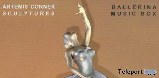 Ballerinai Music Box June 2018 Group Gift by Artemis Corner Sculptures - Teleport Hub - teleporthub.com