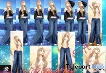 Pack Of 10 Modeling Bento Poses Gift by A&R Haven - Teleport Hub - teleporthub.com