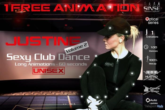 Justine Vol 2 Sexy Club Dance Unisex 1L Promo Gift by SINSE - Teleport Hub - teleporthub.com