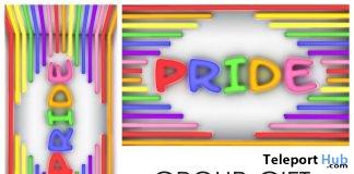 Pride Backdrop June 2018 Group Gift by HERA - Teleport Hub - teleporthub.com