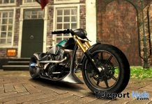 New Release: Skinfaxi Bike by [sau] motors @ Man Cave Event June 2018 - Teleport Hub - teleporthub.com