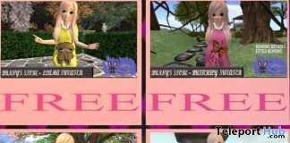 Four Sweaters for Kemono Avatar June 2018 Gift by Bunny's Store - Teleport Hub - teleporthub.com
