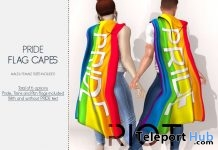 Pride Flag Capes Pack June 2018 Gift by RIOT - Teleport Hub - teleporthub.com